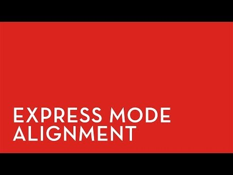 Fixturlaser XA: Express Mode Alignment