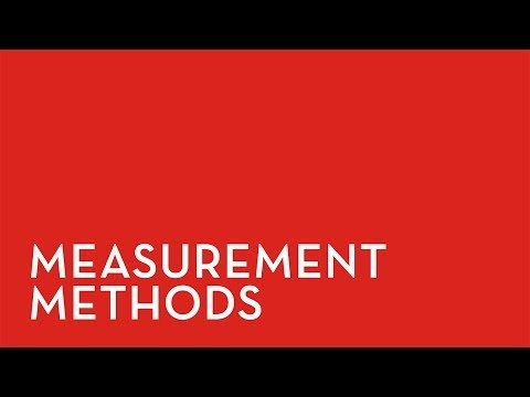 Fixturlaser XA: Measurement Methods