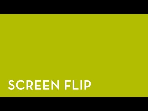 Fixturlaser NXA Pro: Screen Flip
