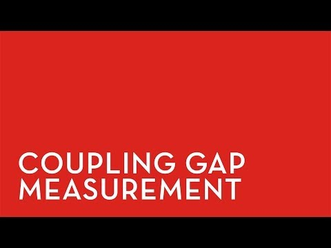 Coupling Gap Measurement