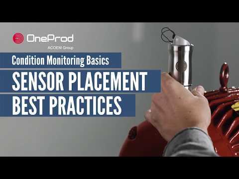Condition Monitoring Basis: Sensor Placement