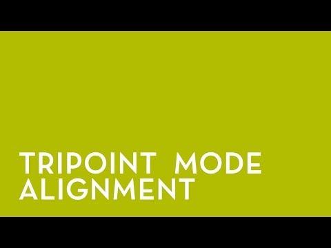 NXA Pro: Tripoint mode Alignment