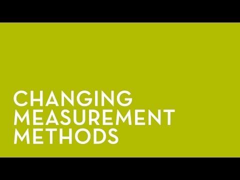 NXA Pro: Changing Measurement Method