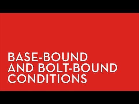 Fixturlaser XA: Base Bold Bound Conditions