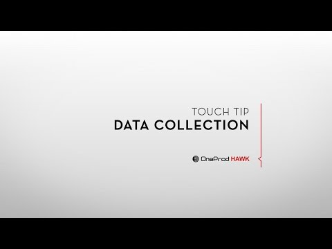 Touch Tip: Data Collection