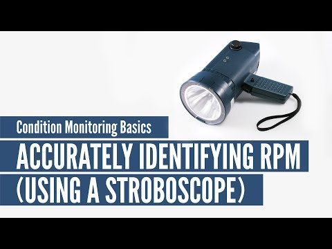 Condition Monitoring Basics: Accurately Identifying RPM