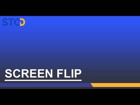 NXA Pro: Basculer l'écran