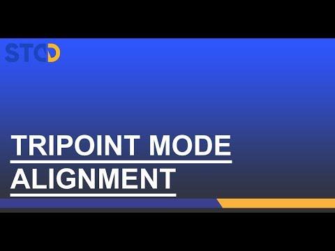 NXA Pro: Alignement méthode Tripoint