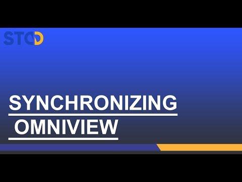 Fixturlaser NXA Pro: Synchroniser OmniView