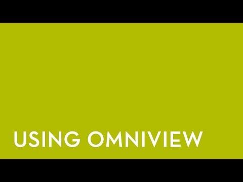 Fixturlaser NXA Pro: Utiliser OmniView