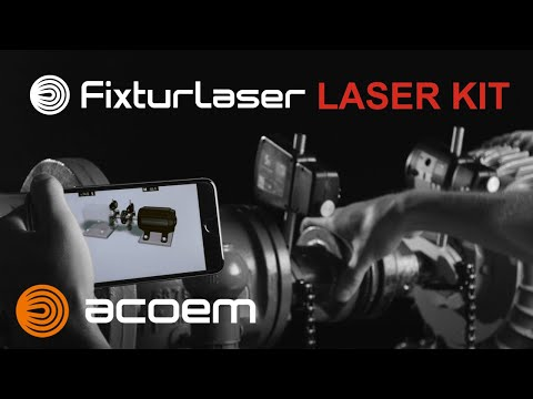 Introduction du Fixturlaser Laser Kit
