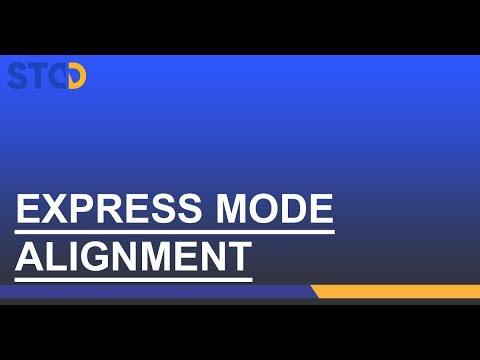 NXA Pro: Alignement mode Express