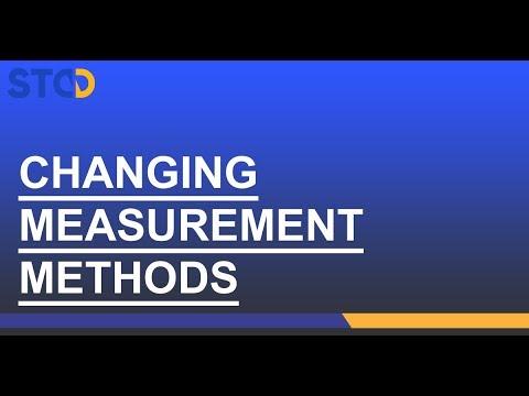 Fixturlaser NXA Pro: Changer de méthode de mesure